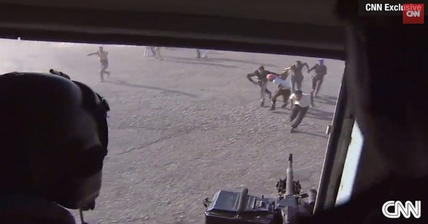 CNN Photojournalist Captures Dramatic First-Person Helicopter Rescue Of Iraqis